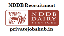 NDDB Recruitment