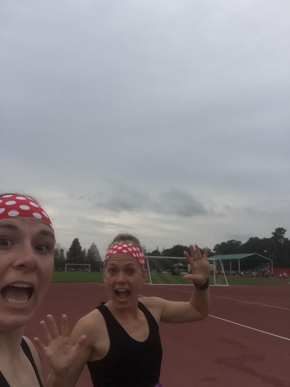Dopey Challenge Mickey Marathon 2016 Running around the track