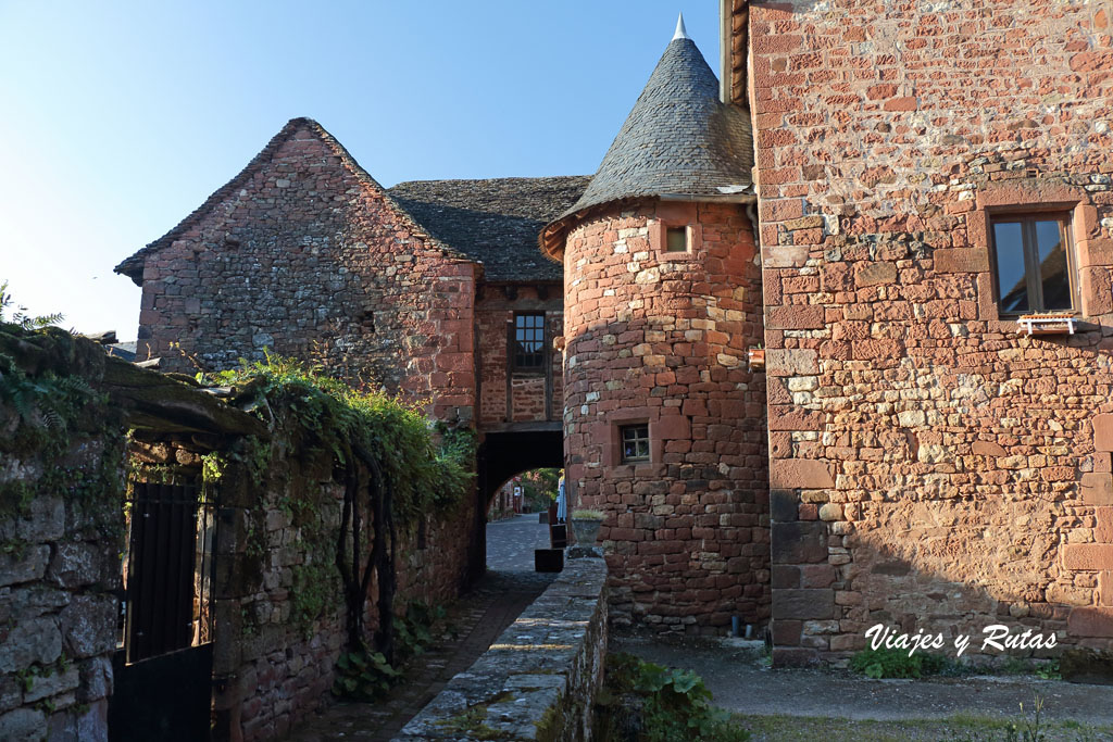 Pasadizo de Collonges la Rouge, Francia