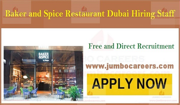 walk in interview jobs in Dubai, Gulf restaurant jobs with salary,