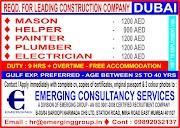 DUBAI JOBS : REQUIRED FOR A LOADING CONSTRUCTION COMPANY IN DUBAI .g