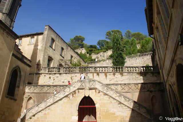 Salita al castello di Sommieres