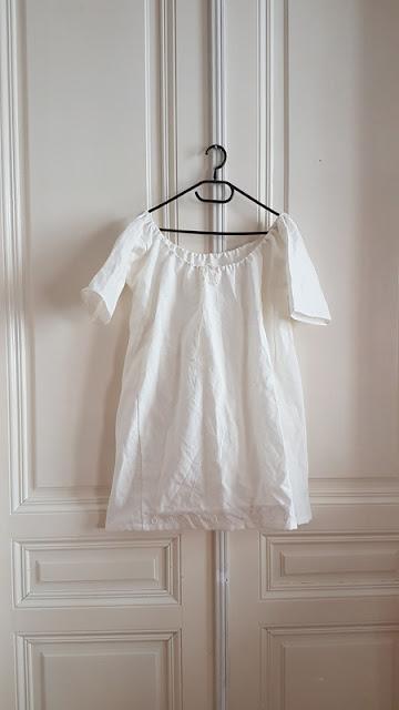 white chemise