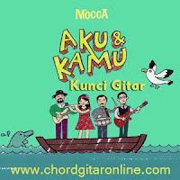 Chord Kunci Gitar AKU dan KAMU Mocca Kord Lagu