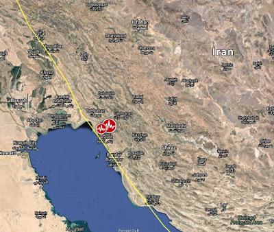 SISMO DE 5,9 GRADOS SACUDE SUR DE IRAN