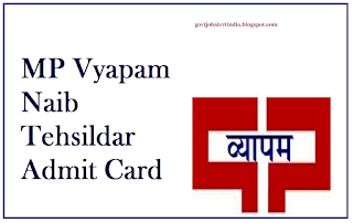 Madhya Pradesh Professional Examination Board (VYAPAM) has announced a notification for the recruitment of Naib Tehsildars 169 Post.