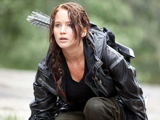 Katniss Everdeen Jennifer Lawrence legends.filminspector.com
