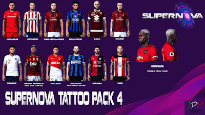 PES 2020 Tattopack 4 by SuperNova