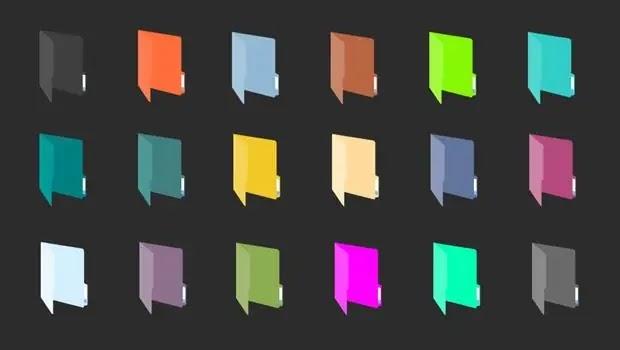 برنامج تغيير لون الفولدر كامل مجاناً
