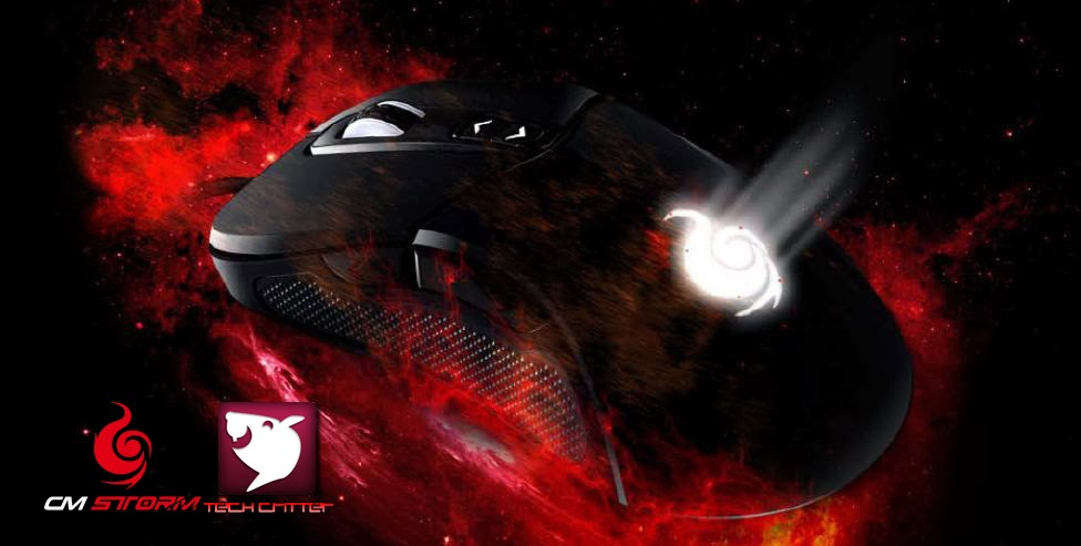 A Sneak Preview On The CM Storm Mizar Laser Gaming Mice 25