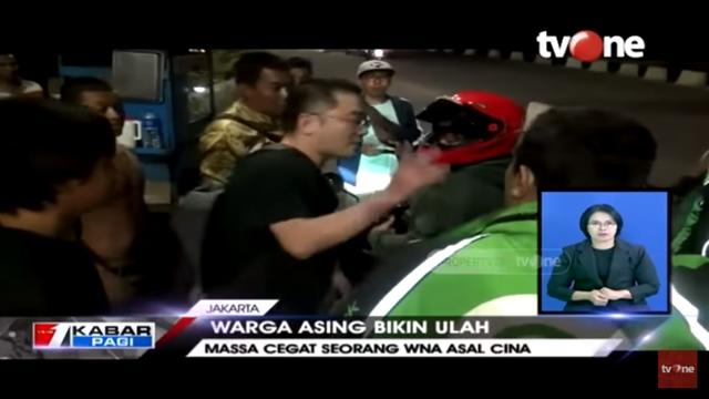 Aniaya Wanita Dalam Mobil, WNA China Nyaris Diamuk Massa di Ancol