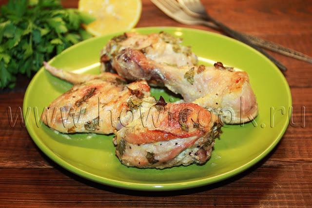 рецепт курицы в маринаде