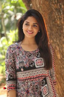 Actress Sunaina Latest Stills in Floral Dress at Pelliki Mundu Prema Katha Trailer Launch  0031.JPG