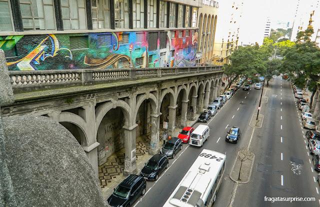 Viaduto Otávio Rocha - Porto Alegre - RS