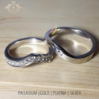cincin perak emas paladium platina