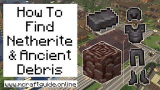 Netherite In Minecraft