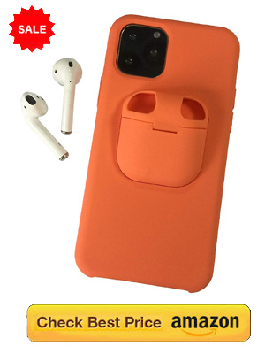 Iphone cover with built in Airpod case