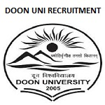Doon University Various Post Recruitment 2019