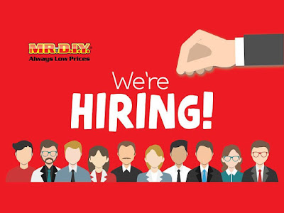 MR.DIY is Hiring Job Positions