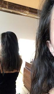 efekt farbowania włosów naturalną henną jasny brąz