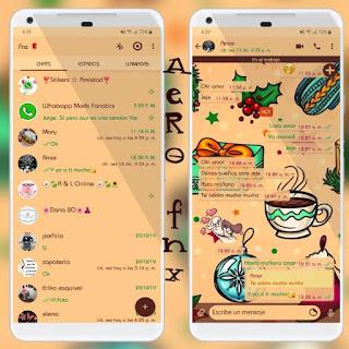Tea Theme For YOWhatsApp & Fouad WhatsApp By Ave fénix