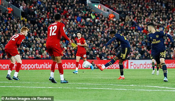 Arsenal exit Caraboa cup after loosing to Liverpool in penalty shootout
