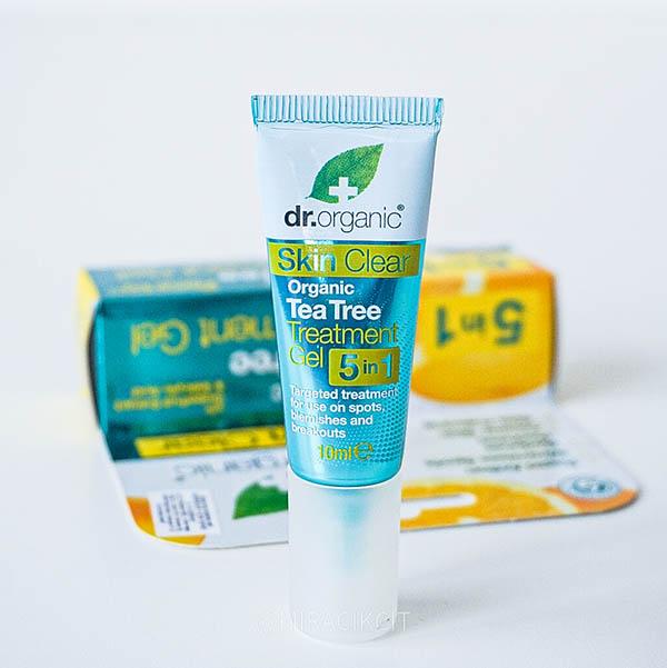 Dr Organic Tea Tree Treatement Gel Review