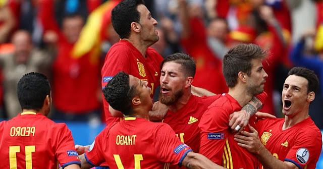 Prediksi Skor Spanyol vs Turki 18 Juni 2016