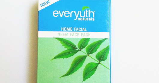 Review // Everyuth Home Facial Neem Face Pack