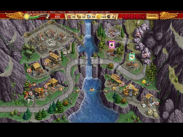تحميل لعبة بناء روما الجديدة Roads of Rome الاصدار الجديد