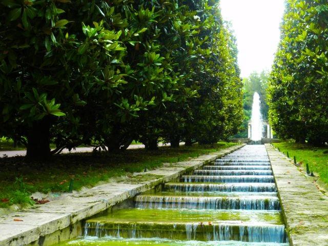 Jardins de Joan Maragall em Montjuic