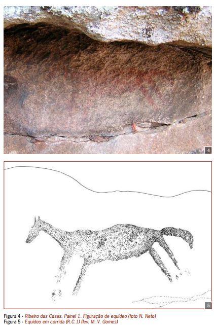0c3639fbfb0 Resumindo a história (que se encontra descrita num artigo de M. V. Gomes e  N. Neto de 2010)... em 2002 foi reportada a seguinte pintura rupestre