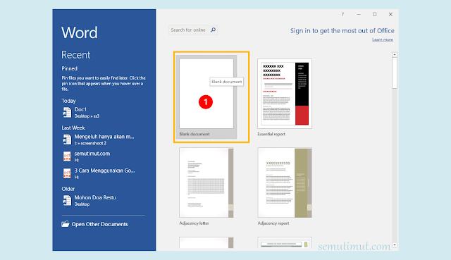 cara membuat buletin di microsoft word 2007
