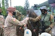 Tim MTT SFAB US Army Latihan Bersama Yonif MR 411 Kostrad di Salatiga