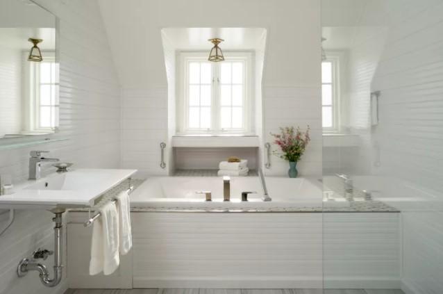 white bathroom ideas photo gallery