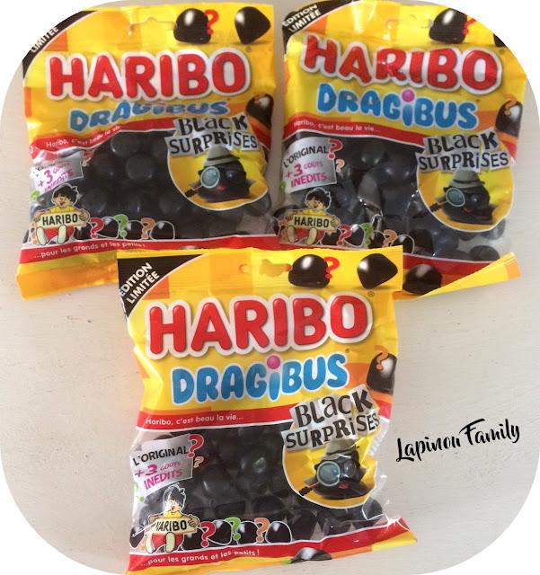 Haribo dragibus noirs