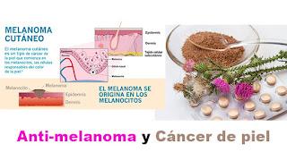 Anti-melanoma y cancer de piel