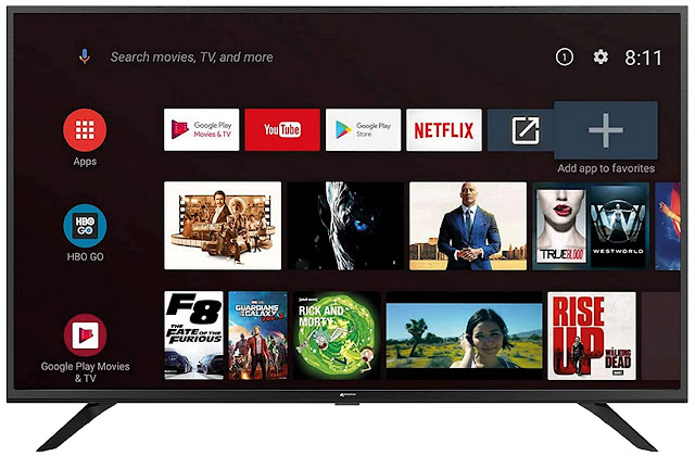 Micromax 102 cm (40 inch) Full HD Certified Android Smart LED TV