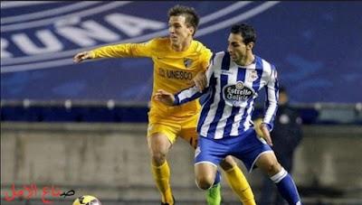 تفاصيل قوية لمباراة ديبورتيفو لاكورونا ومالاجا مباراة الصعود الاسبانية