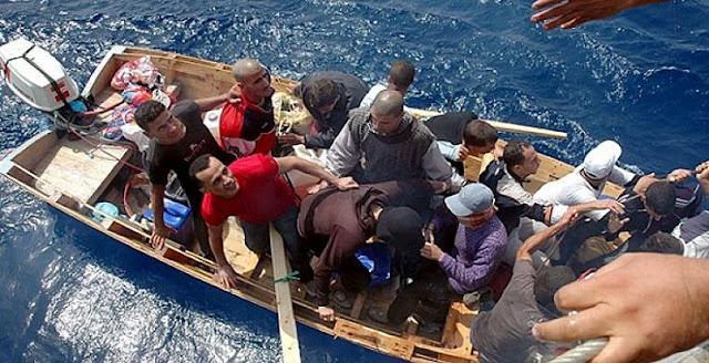 المهدية : القبض على 5 أشخاص من أجل تكوين وفاق بغاية اجتياز الحدود البحرية خلسة