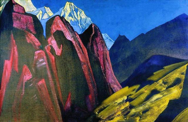 Николай Рерих - Тень Учителя. Тибет