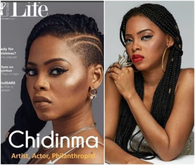 Singer, Chidinma Ekile Makes Shocking Revelation, Reveals She Was Born BLIND