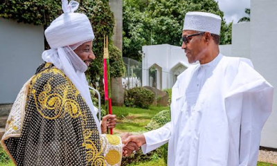 BREAKING: I Am Not Involved In Sanusi's Removal – Buhari