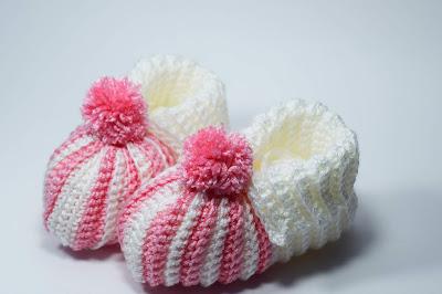2 - Crochet Imagenes Babuchas para bebés a crochet y ganchillo. Majovel Crochet.