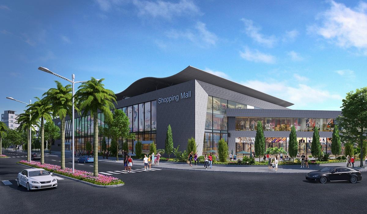 Trung tâm thương mại tại Khu đô thị Him Lam Green Park