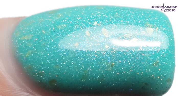 xoxoJen's swatch of Anchor & Heart Lacquer - Manna's Marvelous Masterpiece