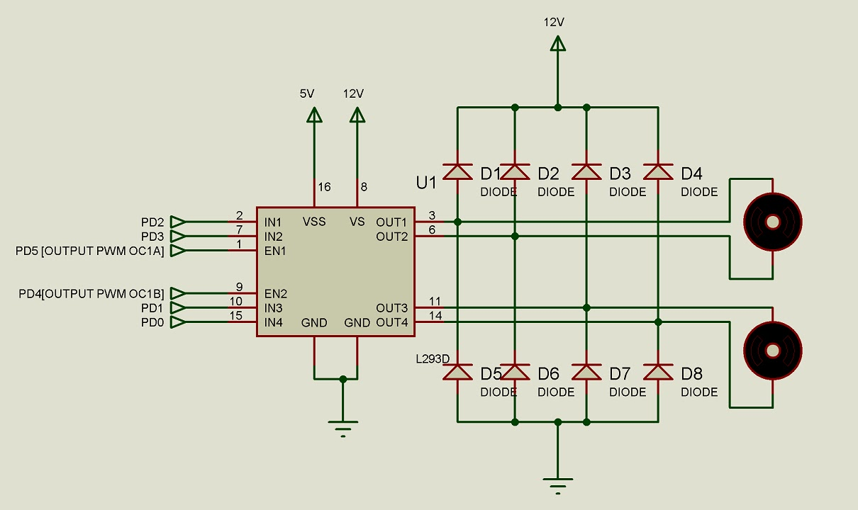 L293d Motor Driver Shield Circuit Diagram Enthusiast Wiring Diagrams Pin Impremedia Net Dc