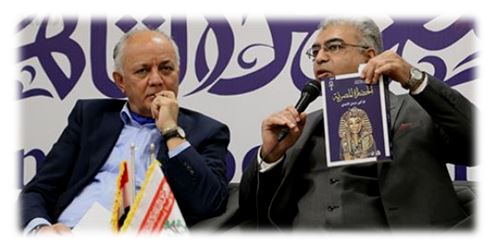 """تخاريف.. الباحث العراقي """"خزعل الماجدي"""": الديانة الإسلامية ظلمت فرعون.. ومصر لم تعرف موسى ويوسف !!"""