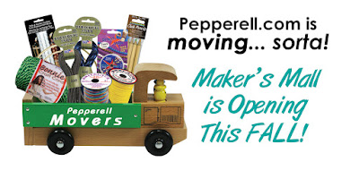 Pepperell.com to become your NEW Maker's Mall!