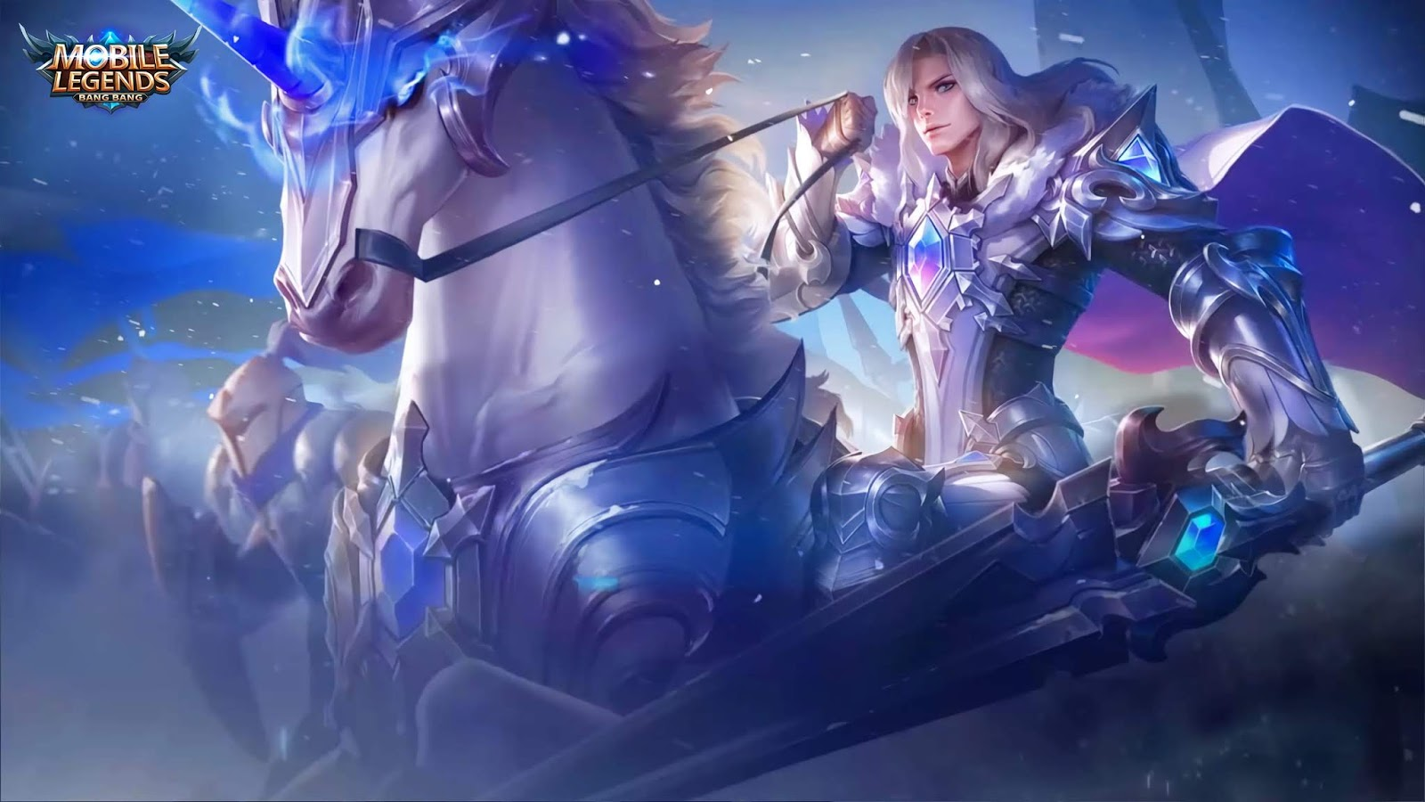 Wallpaper Leomord Frostborn Paladin Skin Mobile Legends Full HD for PC